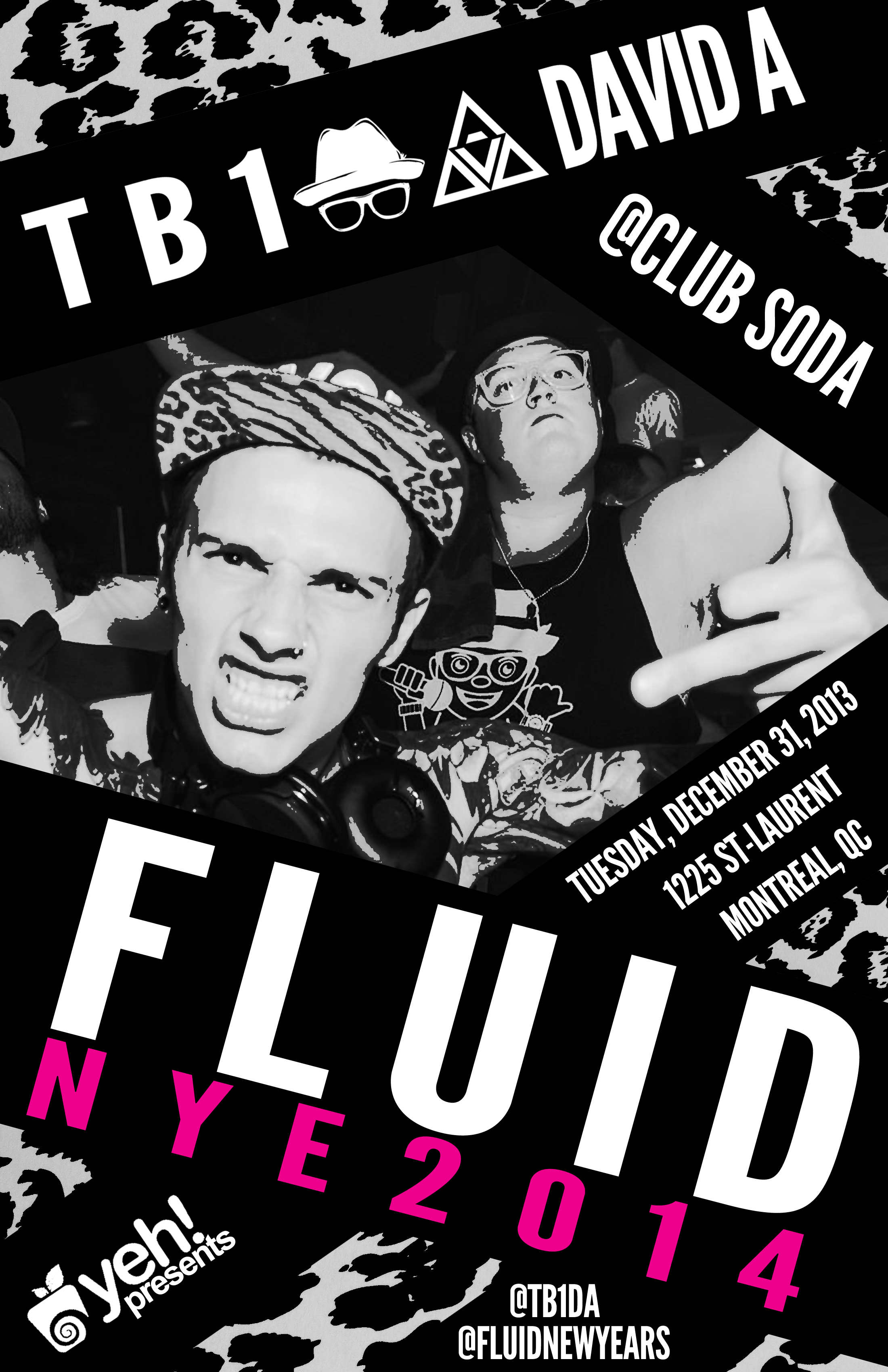 Fluid New Years Eve - TB1 and David A