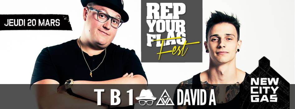 Rep Your Flag - TB1 and David A - New City Gas