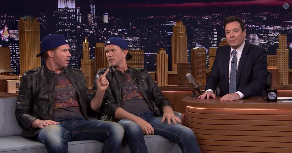 Will Ferrell vs Chad Smith - Drum off 2014 - tonight show with jimmy fallon
